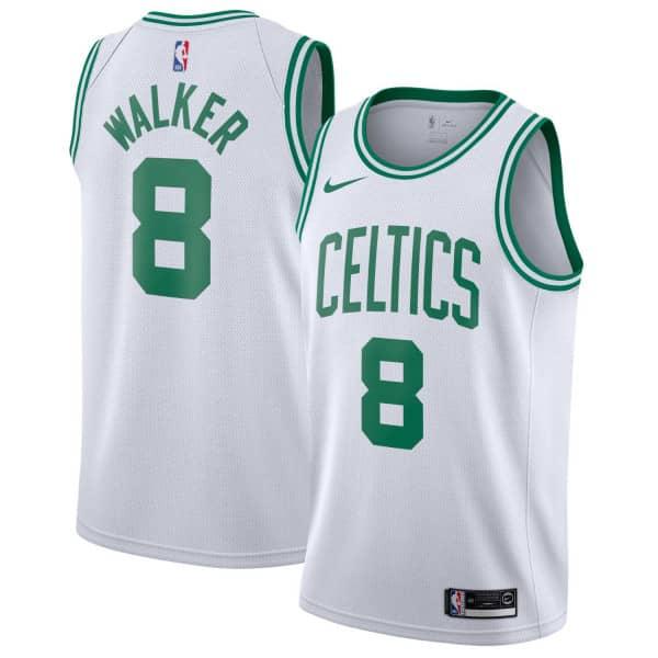 Kemba Walker #8 Boston Celtics Nike Association Swingman NBA Trikot Weiß