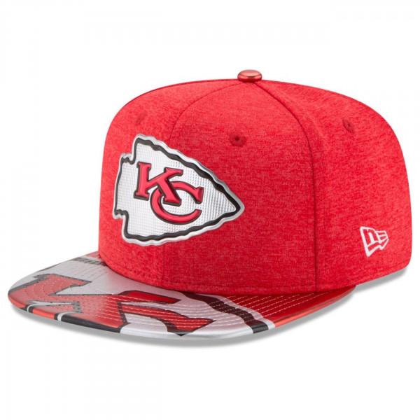 Kansas City Chiefs 2017 NFL Draft Snapback Cap