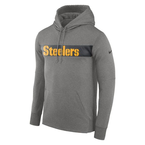 Pittsburgh Steelers Sideline Therma-Fit NFL Sweatshirt Hoodie