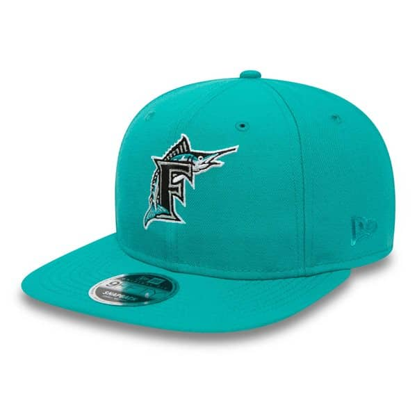 Florida Marlins Coast To Coast MLB Snapback Cap