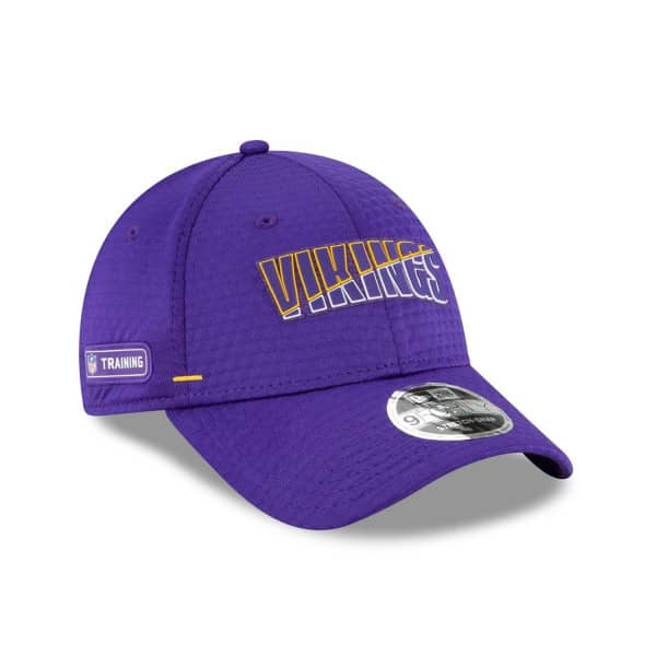 Minnesota Vikings 2020 Summer Sideline New Era Stretch-Snap 9FORTY NFL Cap
