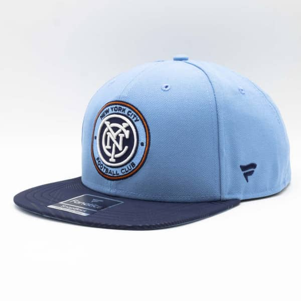 New York City FC Iconic Defender MLS Snapback Cap