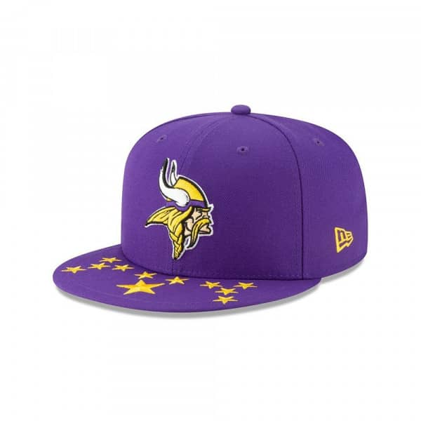 Minnesota Vikings 2019 NFL Draft On-Stage 59FIFTY Fitted Cap