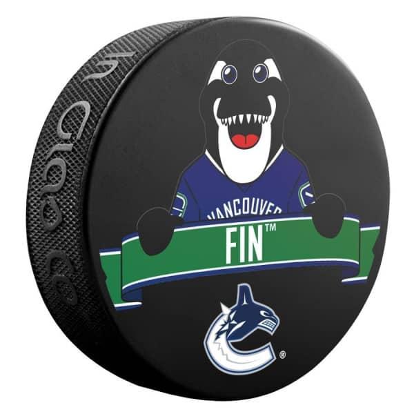 Vancouver Canucks Fin Mascot NHL Souvenir Puck