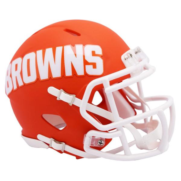 Cleveland Browns AMP Alternate NFL Speed Mini Helm