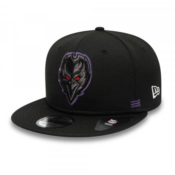 Baltimore Ravens Unofficial 2020 NFL Sideline New Era 9FIFTY Snapback Cap Home