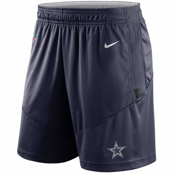 Dallas Cowboys 2021 NFL On-Field Sideline Nike Shorts Navy