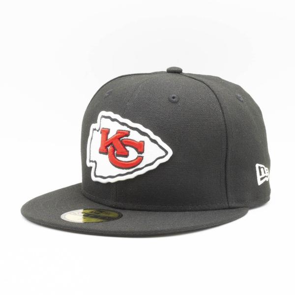 Kansas City Chiefs Team Logo New Era 59FIFTY Fitted NFL Cap
