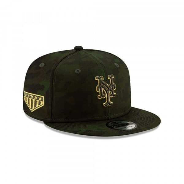 the latest ca447 ee389 New Era New York Mets 2019 Armed Forces Day 9FIFTY Snapback MLB Cap    TAASS.com Fan Shop