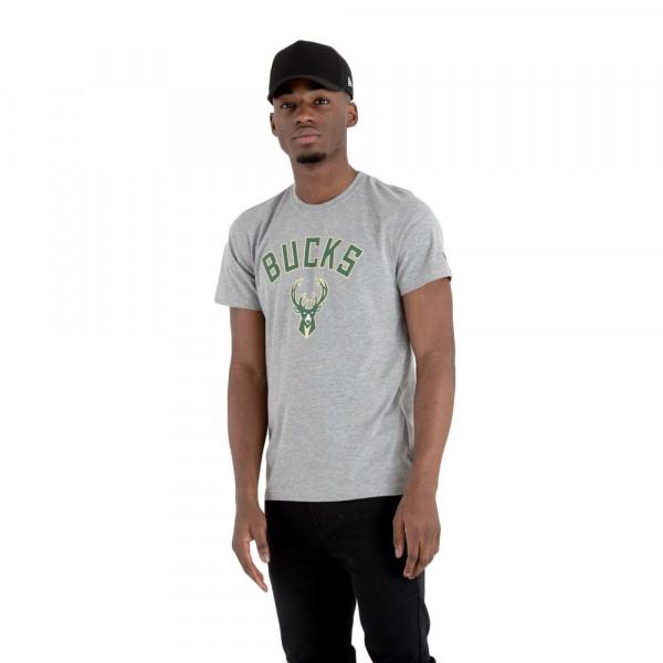 Milwaukee Bucks Team Logo New Era NBA T-Shirt