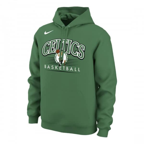 super popular 84eda d897e Nike Boston Celtics Crest Logo NBA Sweatshirt Hoodie Green   TAASS.com Fan  Shop