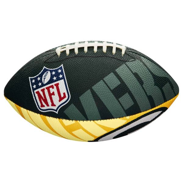 Green Bay Packers Team Logo Junior NFL Football