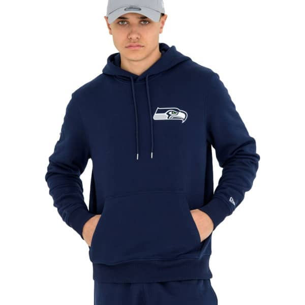 Seattle Seahawks Small Logo NFL Hoodie