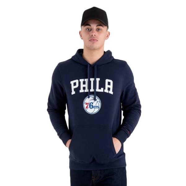 Philadelphia 76ers Team Logo Hoodie NBA Sweatshirt