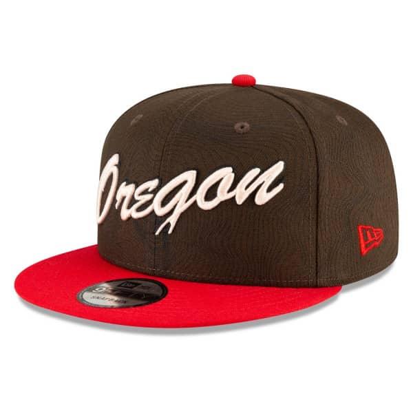 Portland Trail Blazers Oregon Official 2020/21 City Edition New Era 9FIFTY Snapback NBA Cap