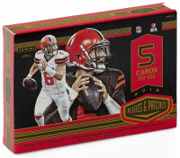 2018 Panini Plates & Patches Football Hobby Box NFL