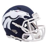 Denver Broncos AMP Alternate NFL Speed Mini Helm