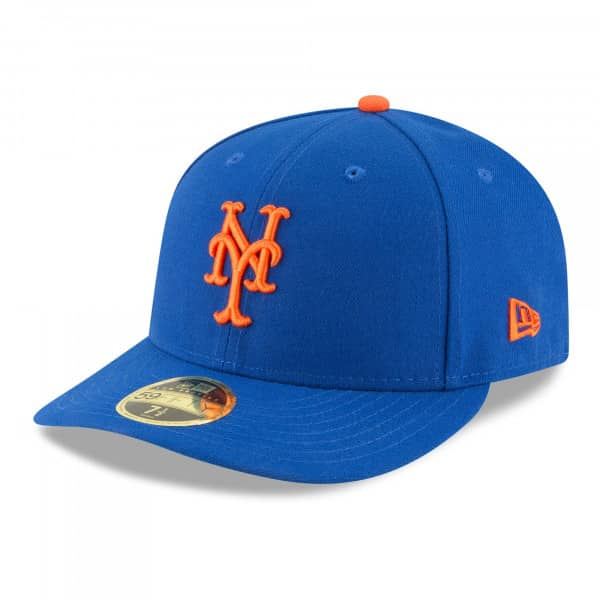 New York Mets Authentic Low Profile 59FIFTY Fitted MLB Cap Game