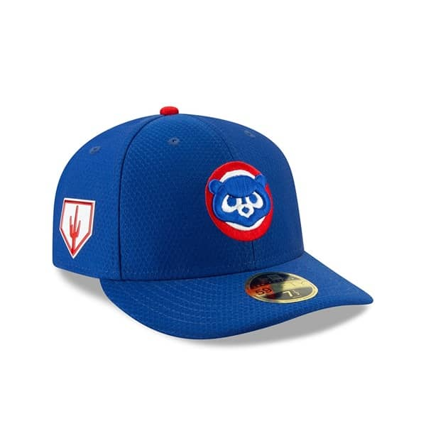 9e2a3a6cca4 New Era Chicago Cubs 2019 Spring Training Low Profile 59FIFTY MLB Cap Game