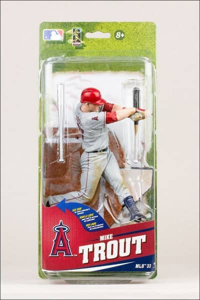 MLB Series 33 Mike Trout LA Angels Collector Level Bronze Variante #2000