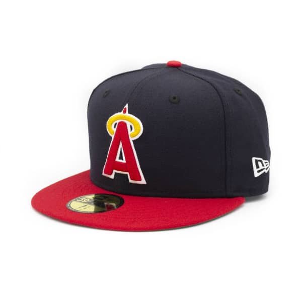 newest collection cb3a0 f1a36 New Era California Angels Cooperstown 59FIFTY Fitted MLB Cap   TAASS.com  Fan Shop