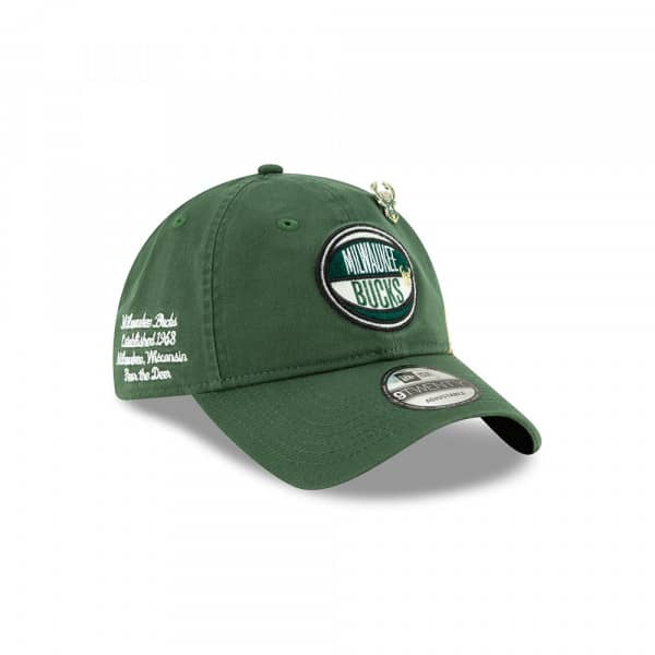Milwaukee Bucks 2019 NBA Draft 9TWENTY Adjustable Cap