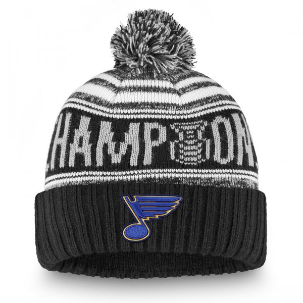 St. Louis Blues 2019 Stanley Cup Champions Beanie NHL Wintermütze