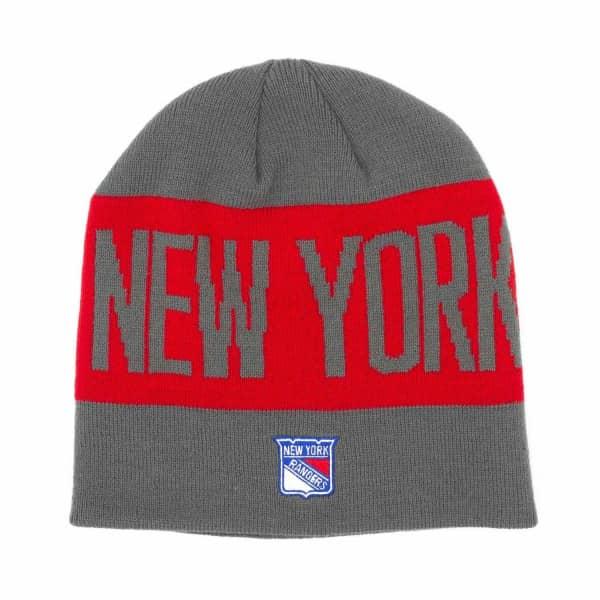New York Rangers 2019/20 Coach Beanie NHL Wintermütze