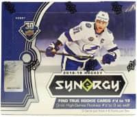 2018/19 Upper Deck Synergy Hockey Hobby Box NHL