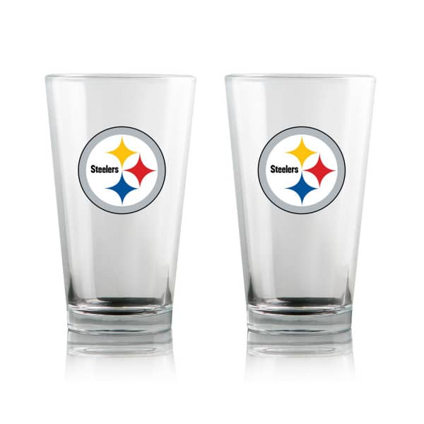 Pittsburgh Steelers Highball NFL Pint Glas Set (2 Stk.)