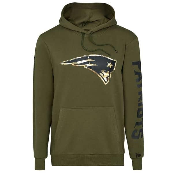 New England Patriots Digital Camo New Era NFL Hoodie