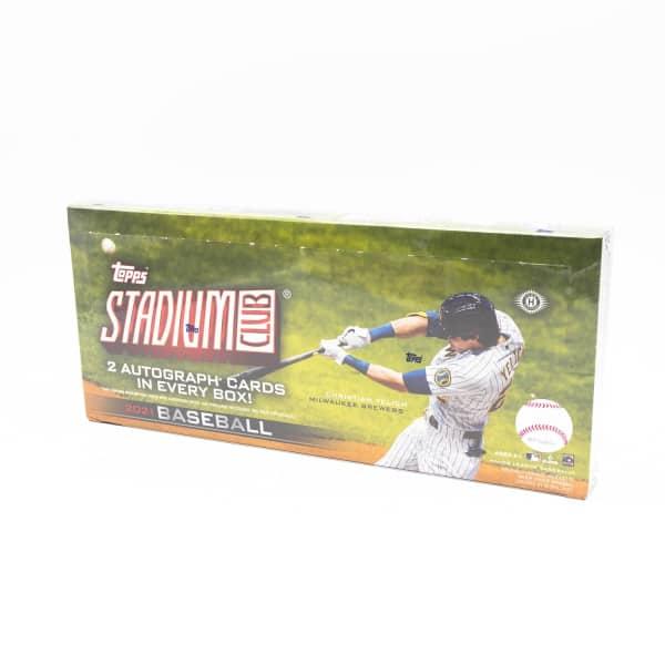 2021 Topps Stadium Club Baseball Hobby Box MLB