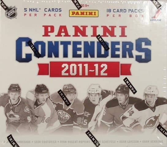 2011/12 Panini Contenders Hockey Hobby Box NHL
