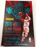 2016/17 Panini Court Kings Basketball Hobby Box NBA