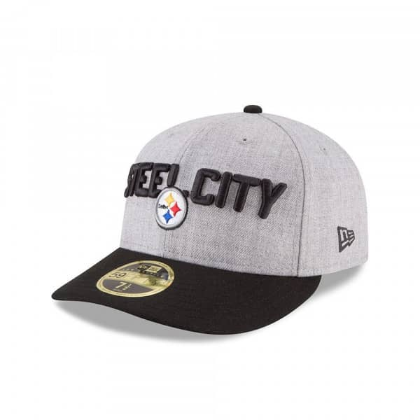 Pittsburgh Steelers 2018 NFL Draft Low Profile 59FIFTY Fitted Cap