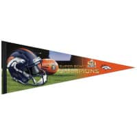 Denver Broncos Super Bowl 50 Champions Premium NFL Wimpel
