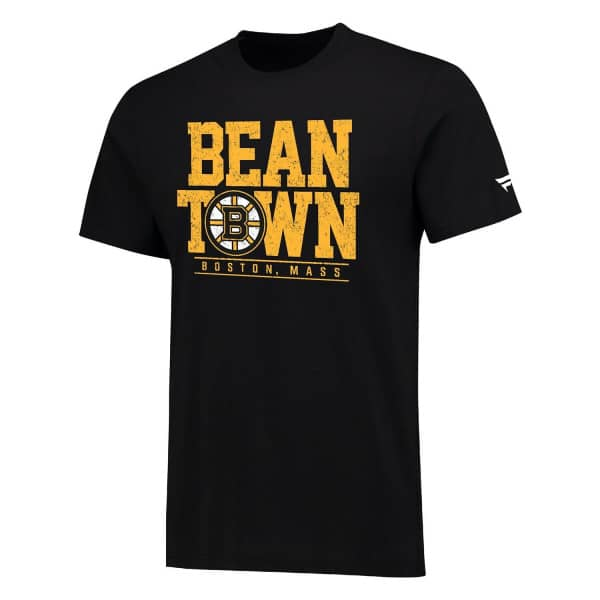 Boston Bruins Bean Town Hometown NHL T-Shirt