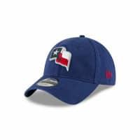 new concept 8c717 f3dc5 Texas Rangers Texas State Flag Logo 9TWENTY Adjustable MLB Cap One Size