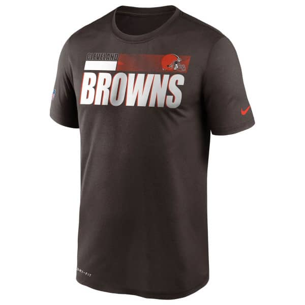 Cleveland Browns 2020 NFL Sideline Nike Legend T-Shirt Braun