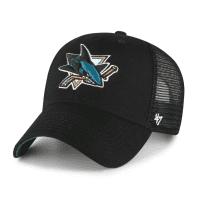 San Jose Sharks '47 MVP Branson NHL Trucker Cap Schwarz