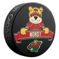 Minnesota Wild Nordy Mascot NHL Souvenir Puck
