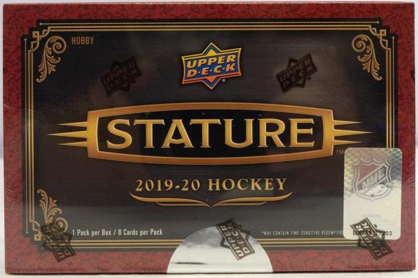 2019/20 Upper Deck Stature Hockey Hobby Box NHL