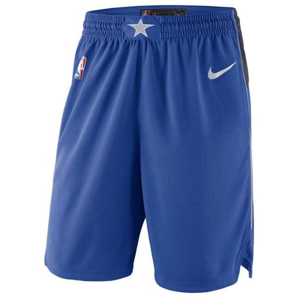 Dallas Mavericks Icon Swingman NBA Shorts Blau