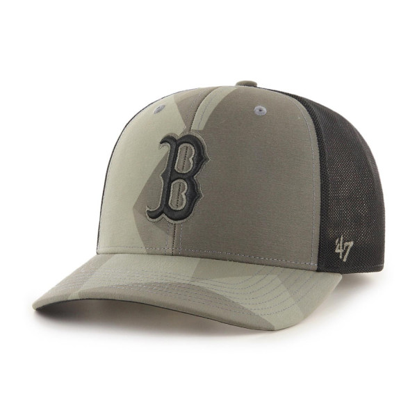 Boston Red Sox Countershade Camo MVP DP Adjustable MLB Cap
