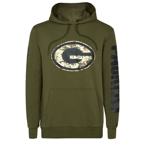 Green Bay Packers Digital Camo New Era NFL Hoodie