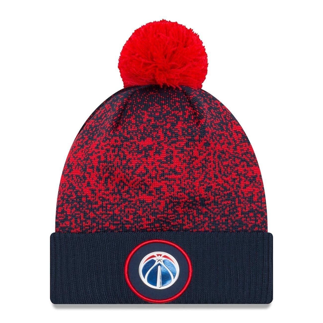 e3dde25069d New Era Washington Wizards 2017 On-Court NBA Knit Hat
