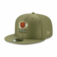 Chicago Bears 2019 On-Field Salute to Service 9FIFTY Snapback NFL Cap