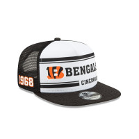 Cincinnati Bengals 2019 NFL On-Field Sideline 9FIFTY Snapback Cap Home