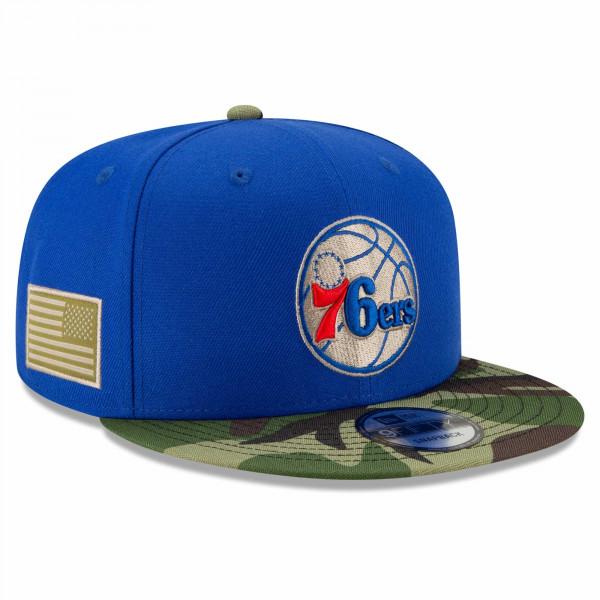 Philadelphia 76ers 2021 NBA All-Star Game Flash Camo New Era 9FIFTY Snapback Cap