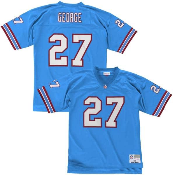 Eddie George #27 Tennessee Oilers Legacy Throwback NFL Trikot